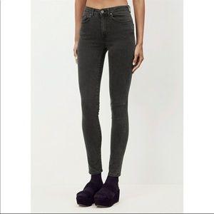 ACNE Studios Skin 5 Jeans in Used Black (A4)